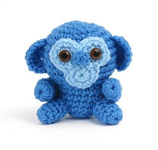 Gourmet Crochet Amigurumi Dinosaurs : Ravelry: Amigurumi Monkey pattern by Carolyn Christmas