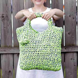 Ravelry Crochet T Shirt Yarn Tote Pattern By Heidi Gustad