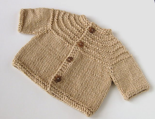 Ravelry: Baby Boy 5 Hour Sweater pattern by Gail Bable