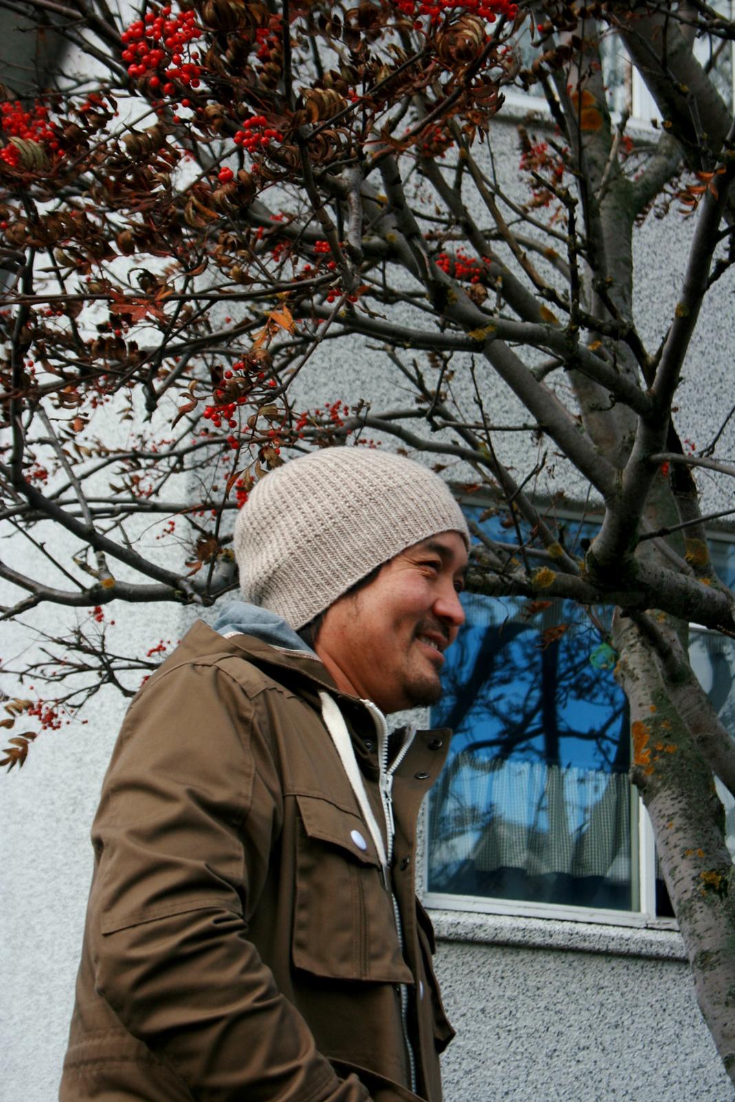 Вязание шапки Kittery, Knitscene fall 2014