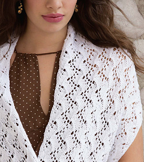 Grapevine Lace Knitting Pattern : Ravelry: Grapevine Mini Lace Wrap pattern by Yoko Hatta (???)