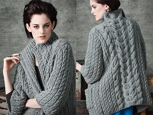 Vogue Knitting Patterns : Backward Knitter: September 2010