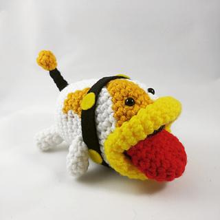 Knitting Pattern For Yoshi Toy : Ravelry: Poochy Amigurumi pattern by Kara Marie