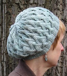 Free Beret Knitting Pattern 4 Ply : Ravelry: Whipsaw Beret pattern by Erika Flory