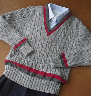 Knitting Pattern For Cricket Sweater : Ravelry: Cricket Sweater ????????? pattern by Mariko Mikuni (?? ????