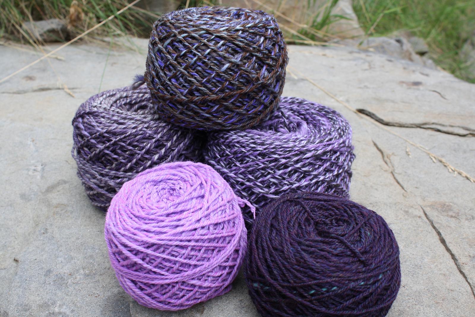 Purple Maxfield Yarns