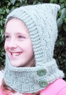 Hooded Cowl Knitting Pattern Ravelry : Ravelry: Super Chunky & Chunky Hooded Cowl pattern by Knits -r-us
