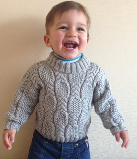 Free Knitting Patterns For Teenage Sweaters : Ravelry: Cable & Seed Stitch Sweater pattern by Nelya Koval