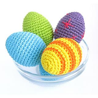 Ravelry: Chicken eggs - Crocheted Easter egg - Amigurumi ...