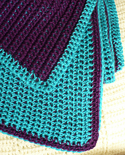 Ravelry Double Sided Reversible Afghan Pattern By Angela