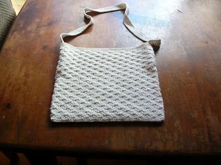 Casual Textured Crochet Shoulder Bag 22