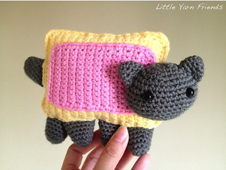 Ravelry: Nyan Cat pattern by Rachel Hoe