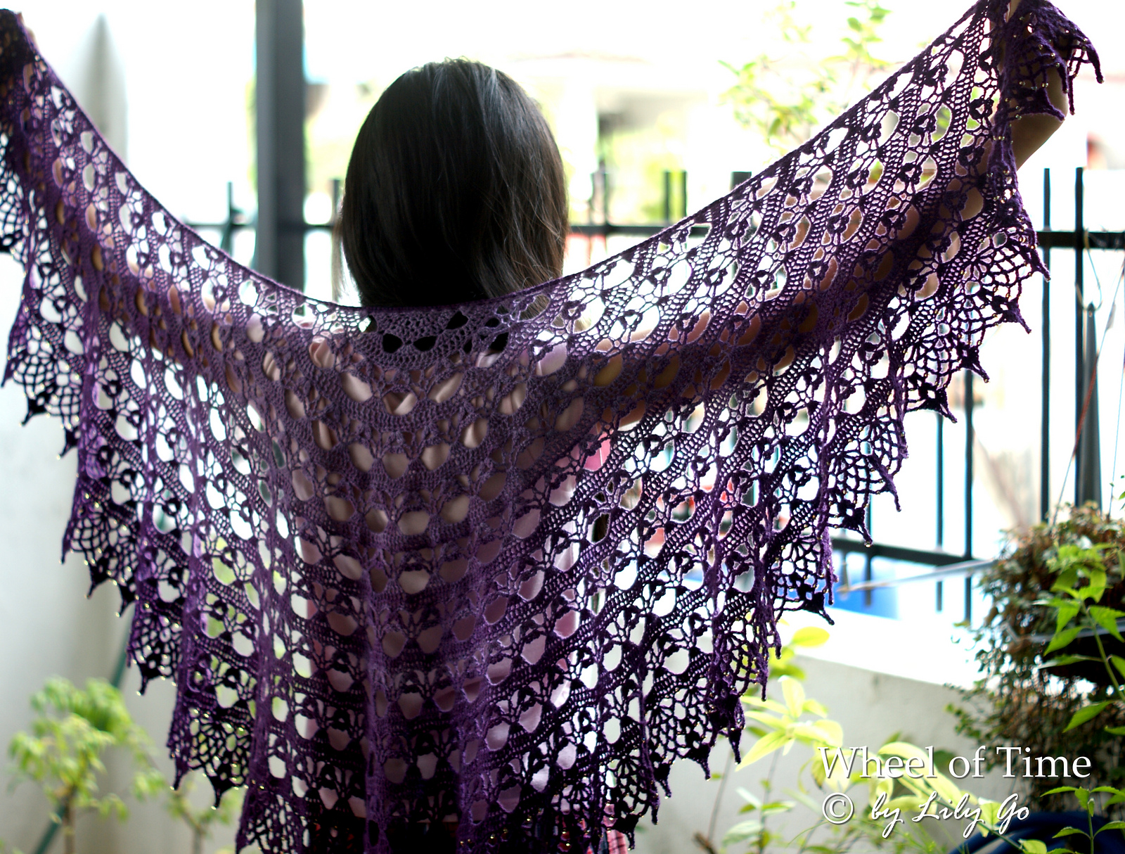 how to make a prayer shawl crochet