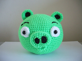Angry Birds Amigurumi Pattern : Ravelry: Angry Birds - Pig pattern by Adorable Amigurumi