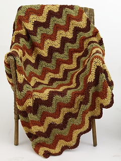 Ravelry: Ripple Afghan #70409AD pattern by Lion Brand Yarn