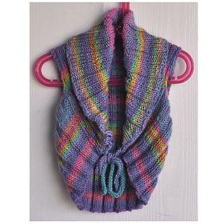 Ballet Shrug Knitting Pattern : Ravelry: Childs Ballet Shrug in Mochi Plus pattern by Gail Tanquary