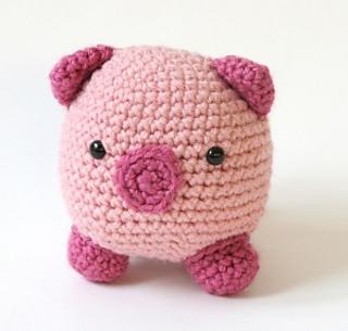 Amigurumi Yarn Ply : Ravelry: Amigurumi Pig pattern by Lion Brand Yarn