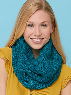 Ravelry: Twist n Shout Cowl pattern by Caron Design Team