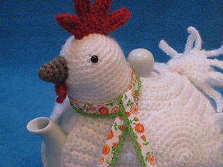 Knitted Chicken Tea Cosy Pattern : Ravelry: Teacosy Chicken Tea Cosy Cozy Hen Easter pattern by Millionbells