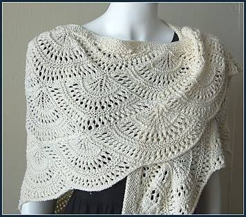 FREE CROCHETED PINEAPPLE SHAWL PATTERN – Easy Crochet Patterns