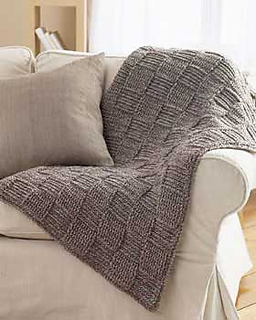 Ravelry Basketweave Blanket Pattern By Bernat Design Studio