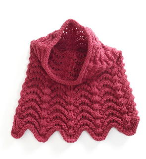 Free Knitting Patterns For Cowls Hoods : Ravelry: Knitted Cowl Hood pattern by Lion Brand Yarn