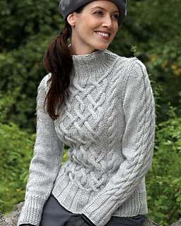 Ravelry: Sterling Cables Sweater #4 pattern by Bernat ...