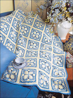 Ravelry Blue Ice Afghan Pattern By Shirley Brown