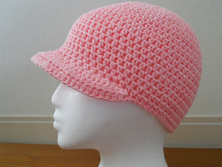 Ravelry Crochet Hat With Brim Pattern By Teresa Richardson