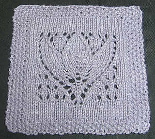 Knitting Patterns For 12 Inch Squares : Ravelry: Margaret Tulip 9
