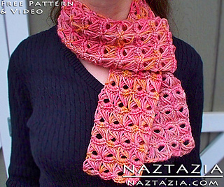 Crocheting Help : Ravelry: Broomstick Lace Scarf with Help Video pattern by Naztazia