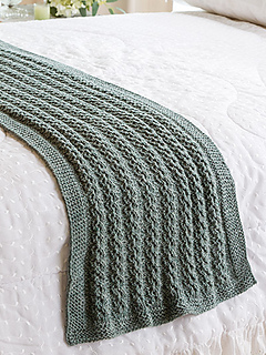 Ravelry Waterfall Lace Bed Runner Pattern By Denise Layman