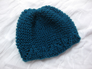 Ravelry: Garter Stitch Baby Hat pattern by Joy Morgan