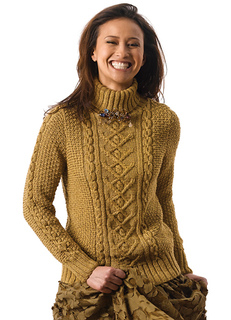 Free Knitting Patterns For Turtleneck Sweaters : Ravelry: Tracy pattern by Norah Gaughan