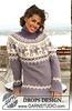 вязаный свитер с норвежскими узорами.  Просмотреть все записи в Вязание для женщин спицами.  Написал Татьяна.