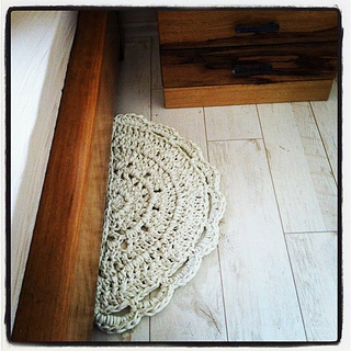 Ravelry By Your Bed Bathmat Doormat Rug Free Crochet