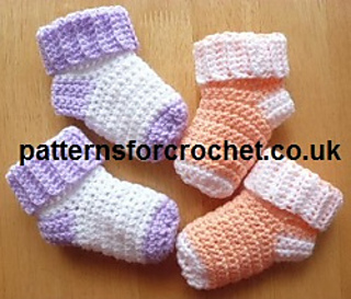 Ravelry: PFC64 Baby Socks pattern by Patternsfor Designs