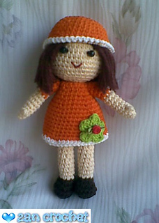Ravelry: Zan Zan, The Little Amigurumi Doll pattern by zan ...