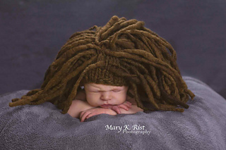 Ravelry Marley Dreadlock Baby Hat Pattern By Tracie Taggart