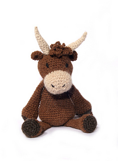 Amigurumi Easter Egg Pattern Free : Ravelry: Douglas the Highland Cow pattern by Kerry Lord