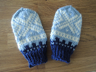 Ravelry: Baby mittens with Marius pattern pattern by Meng ...