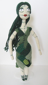 dormant the nightmare before christmas sally doll with pattern link crochet - Nightmare Before Christmas Sally Doll