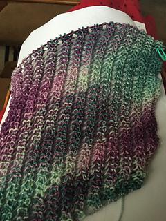 Infinity Scarf Knitting Pattern Size 8 Needles : Ravelry: reginaknitsoks Striped Infinity Scarf