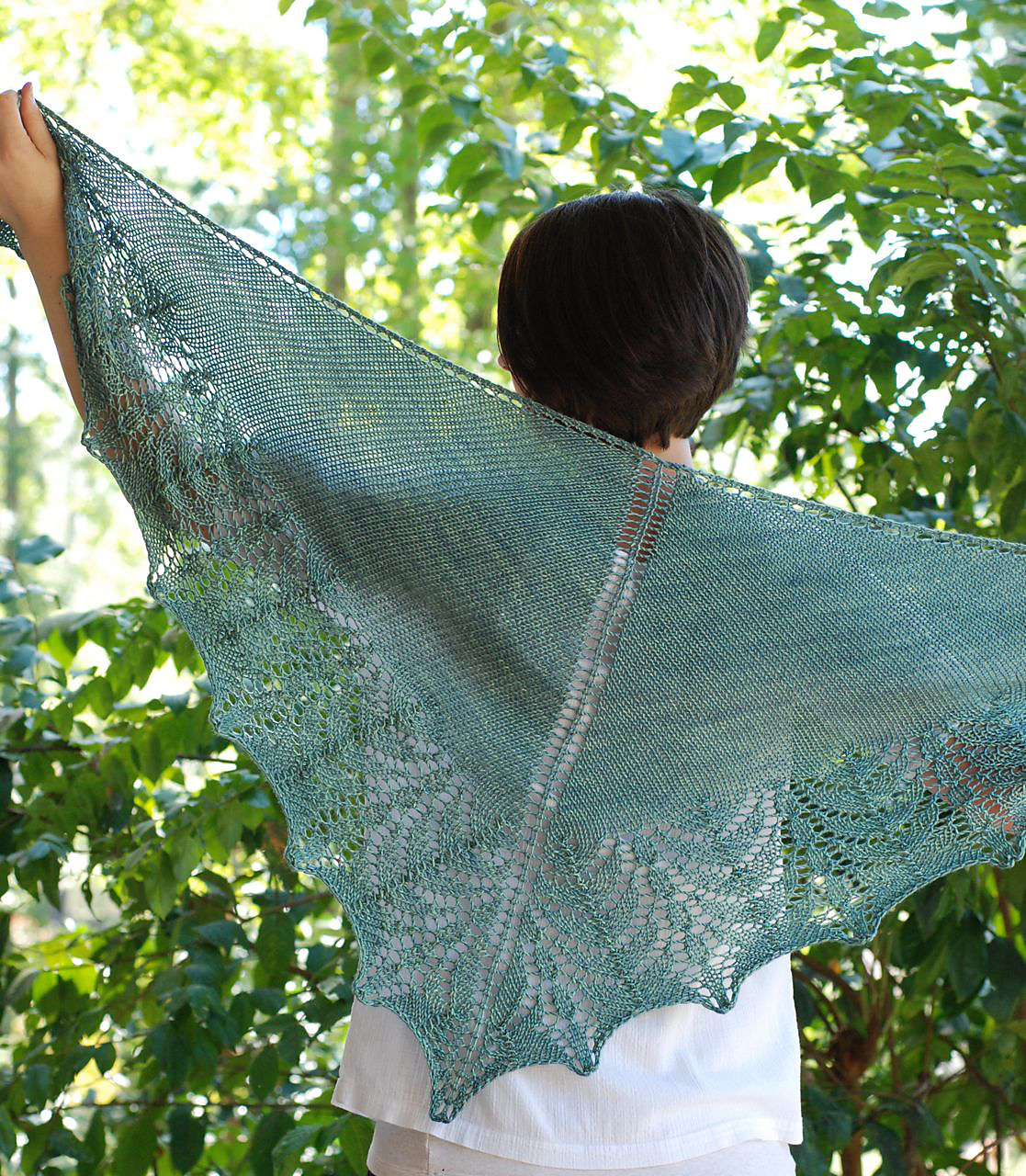 Falling Water Shawl Pattern