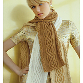 Vogue Knitting Pattern Errata : Ravelry: #08 Cabled Scarf pattern by Elena Malo