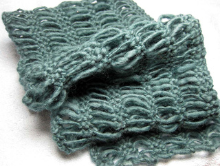 Knitting Pattern For Waterfall Scarf : Ravelry: Waterfall Scarf pattern by Linda OLeary