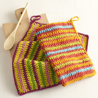 Ravelry: Fiesta Dishcloths pattern by Lion Brand Yarn