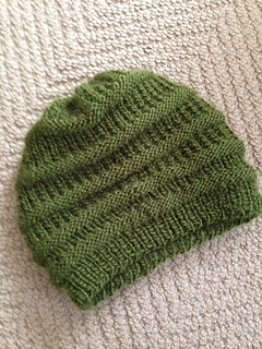 Knit Beanie Pattern Ravelry : Ravelry: Easy Knit Slouchy Beanie pattern by Siobhan McRee