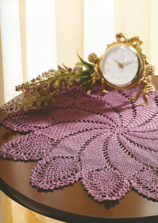Ravelry Passionate Plum Doily Pattern By Agnes Russell