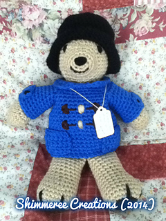 Amigurumi Paddington Bear : Ravelry: Amigurumi Paddington Bear pattern by Jenn Mulherin